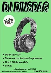 DJ Dinsdag (12+)